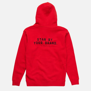 ELEMENTS PASSION ZIP HOODIE RED