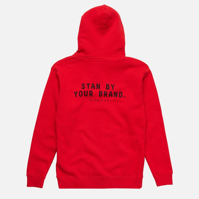 ELEMENTS PASSION ZIP HOODIE RED Cloak-Elements