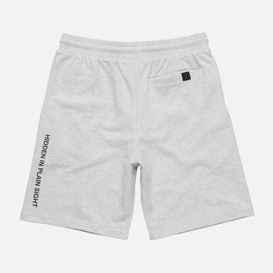 Reflective Logo Sweat Shorts White Cloak-New SM