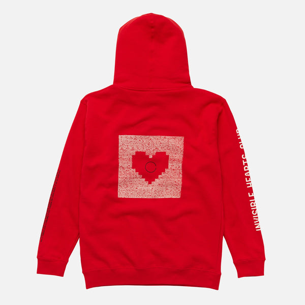 IHC Heartcoded Hoodie Red