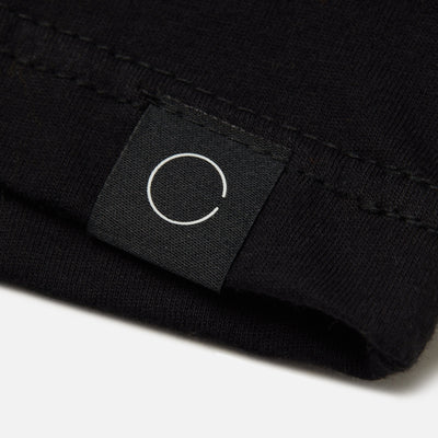 BINARY TONAL BLACK TEE Cloak-New