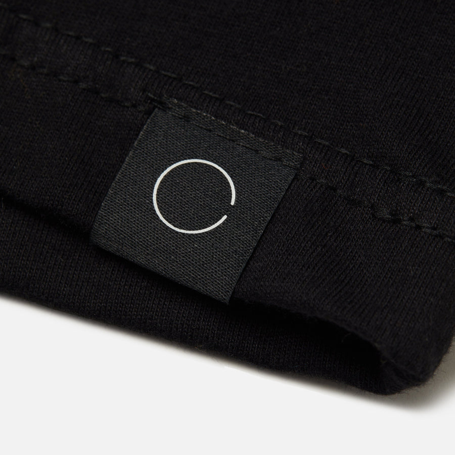 BINARY TONAL BLACK TEE