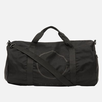 REFLECTIVE LOGO DUFFEL BAG BLACK Cloak-New