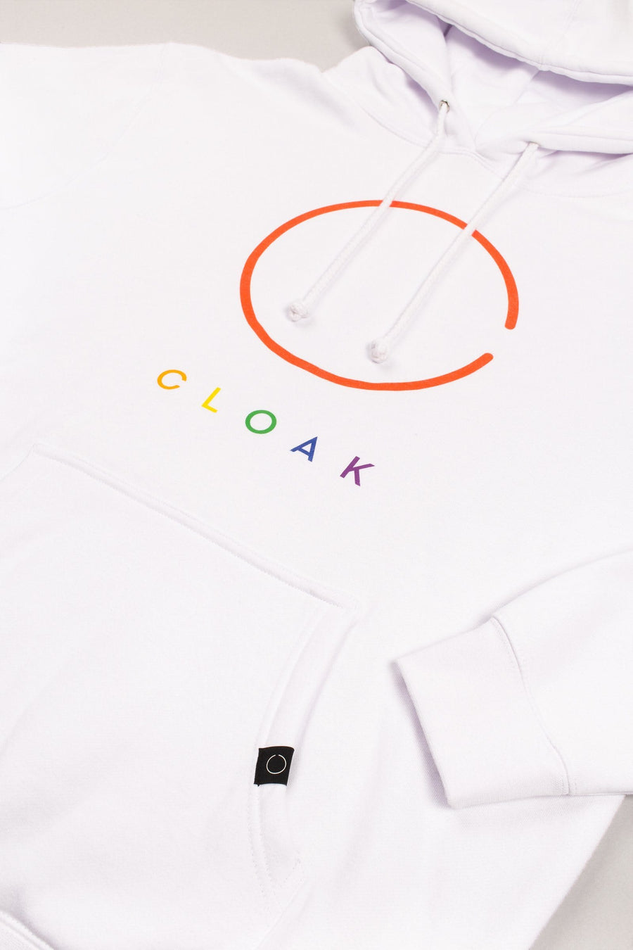 Cloak Colours Hoodie - White