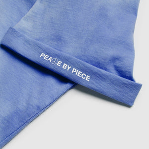 Peace by Piece Geo Tee Blue