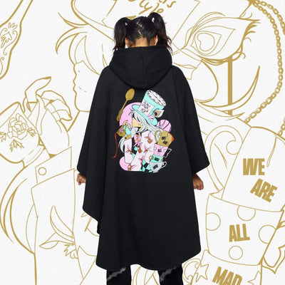 WL MAD HATTER CLOAK BLACK Cloak Wonderland