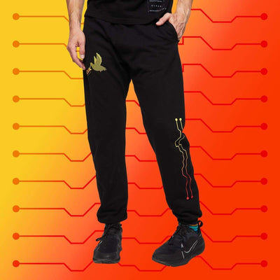 PS THE BIRDS ULTRA JOGGER BLACK Jogger PS PROGRAM SPRUNG