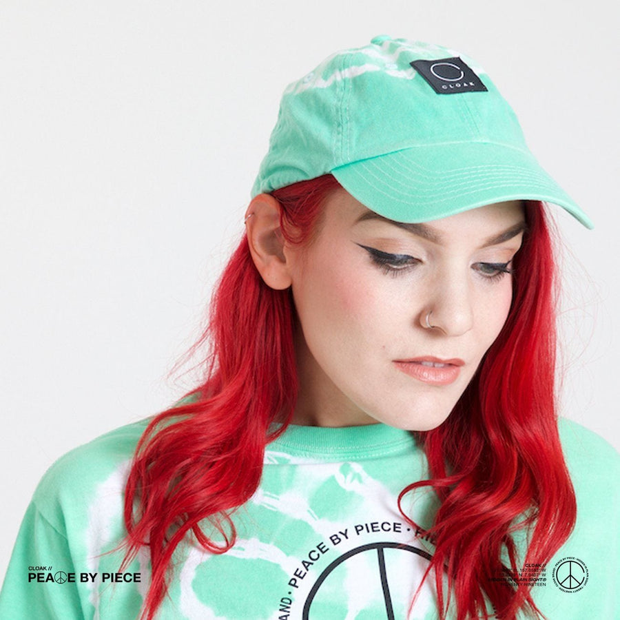 Peace by Piece Geo Polo Hat Dye