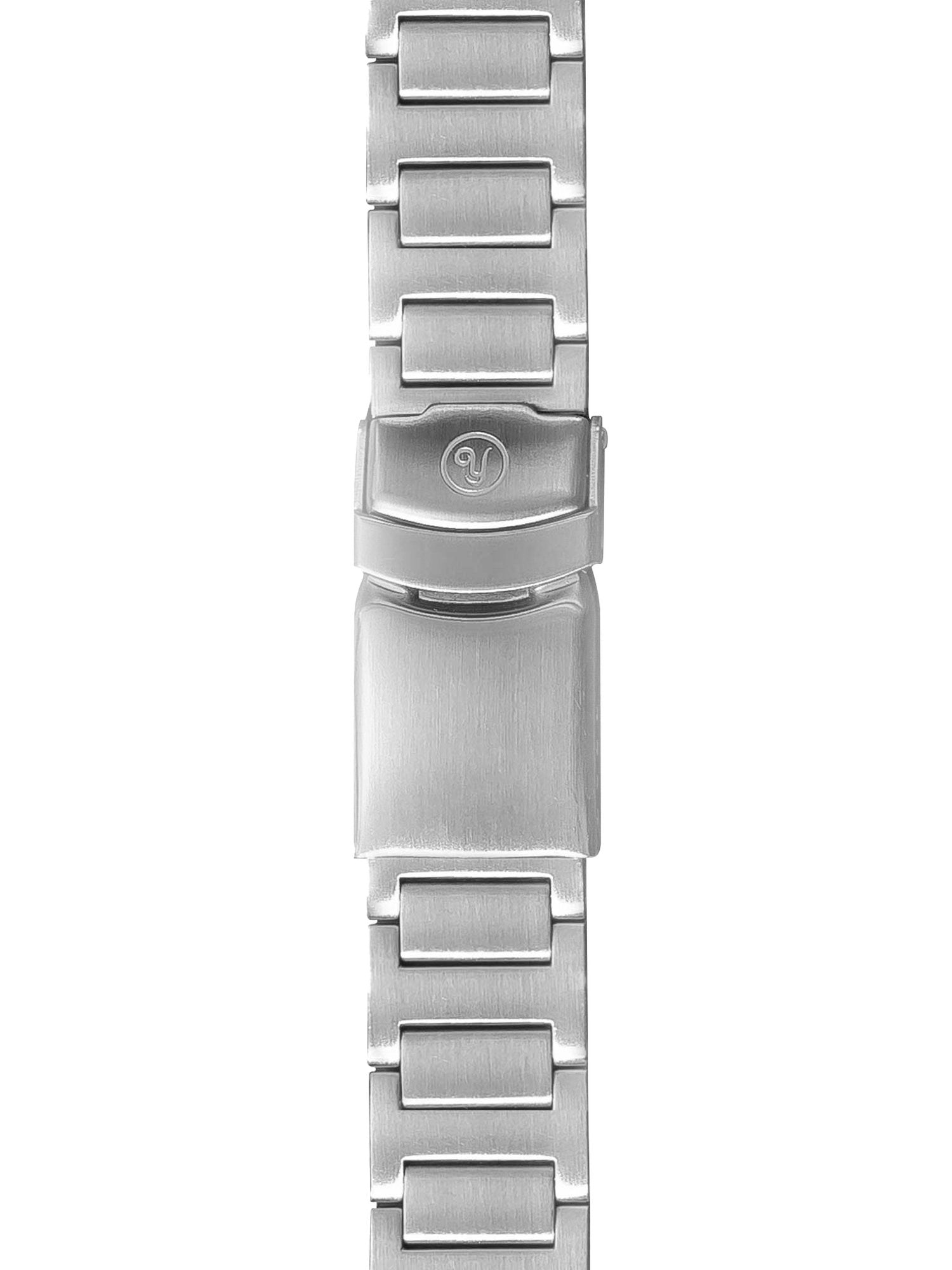 Stainless Steel Flygraf Pilot Watch Band 19mm