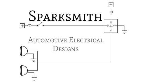 Sparksmith original business card