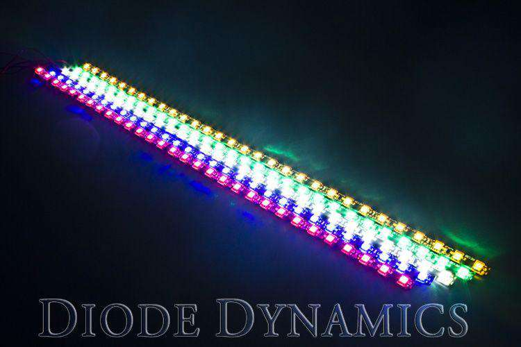 DIODE DYNAMICS: RGB Multicolor Flexible 5050 SMD LED Strip