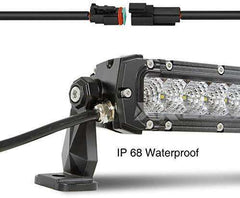 "50"" 250W LED Light Bar - Spot Flood Combo 21,400 Lumens"