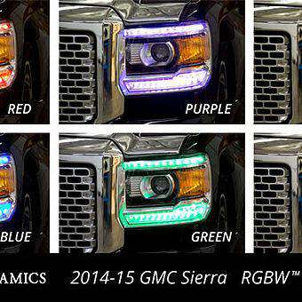 2014-2015 GMC Sierra RGBW DRL Boards
