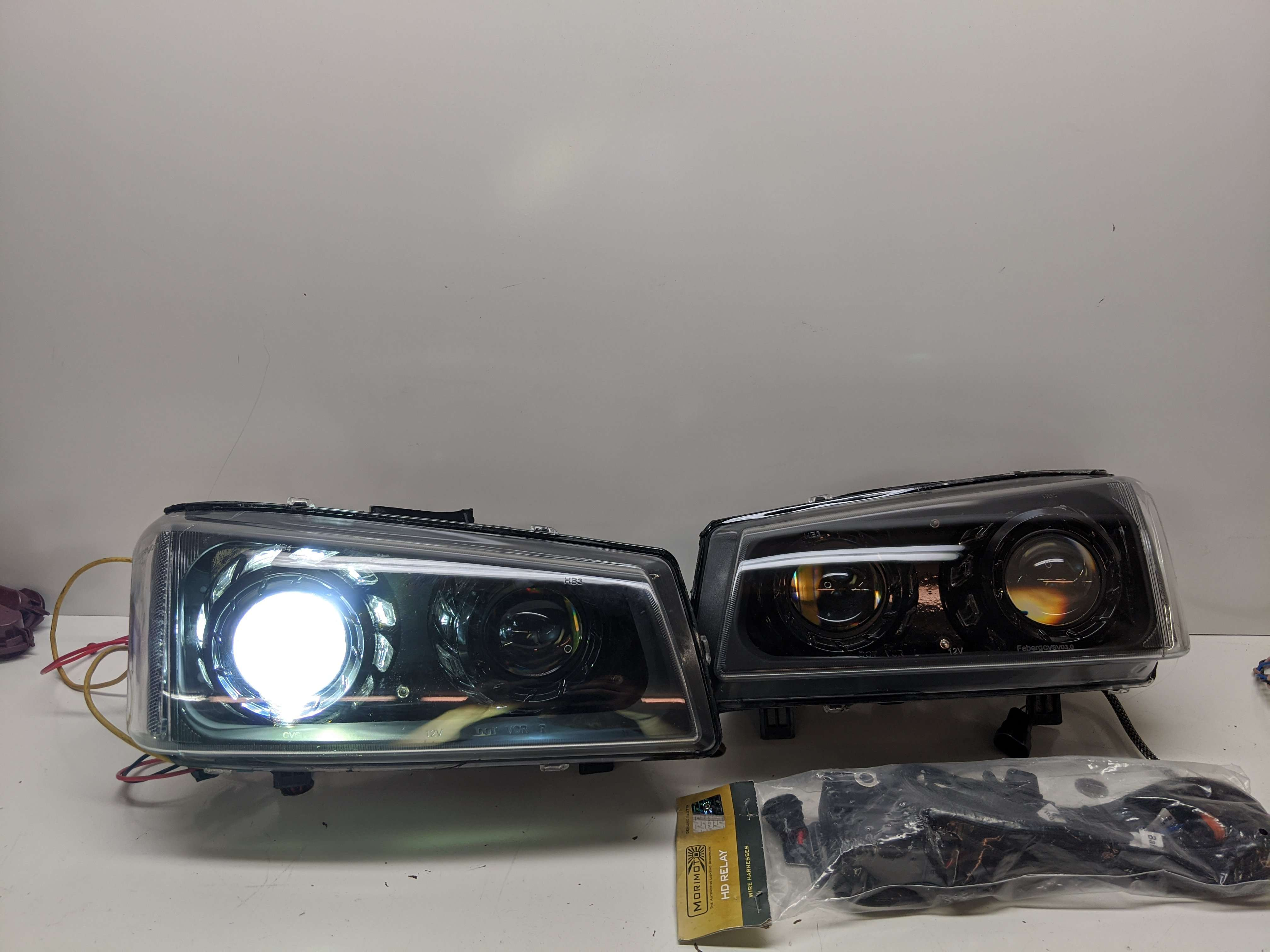 03-07 Chevrolet Silverado Custom Quad Headlights
