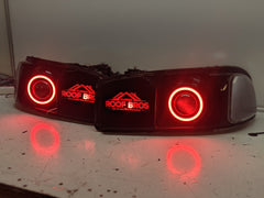 2003-2006 GMC SIERRA CUSTOM HEADLIGHTS
