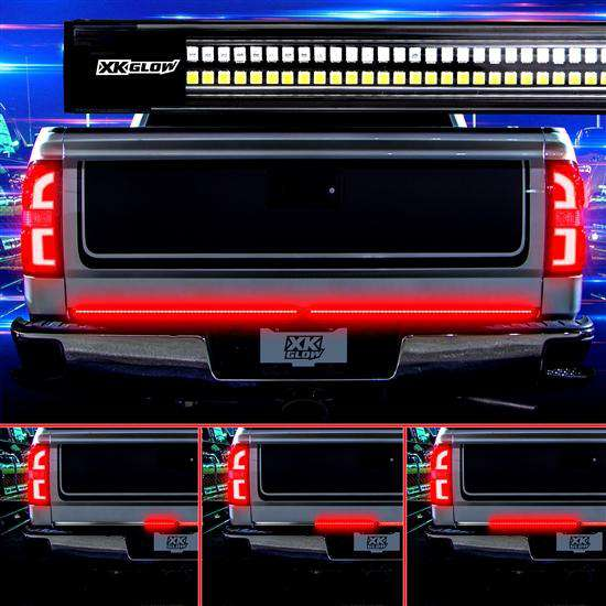 XKGlow Truck Tailgate LED Light Bar with Sequential Turn Signal