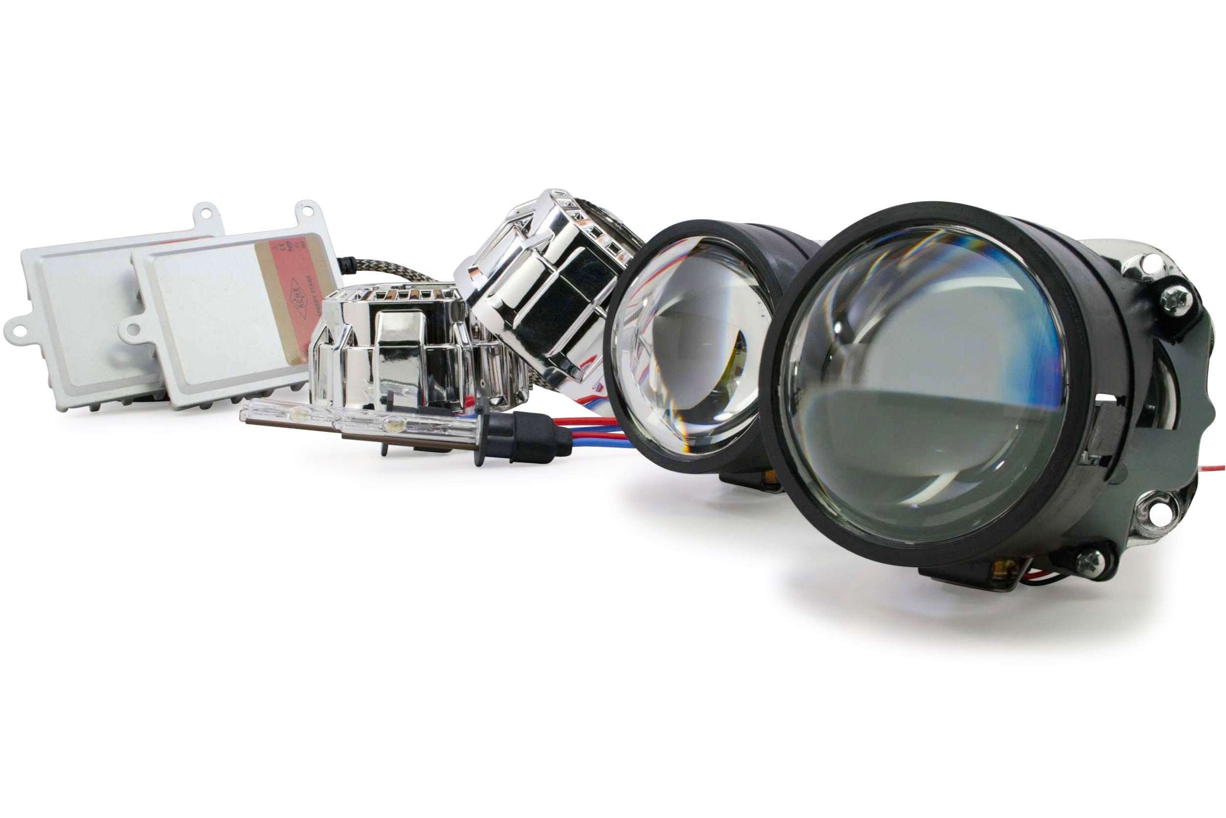 2003-2006 GMC Sierra Custom Build Headlights