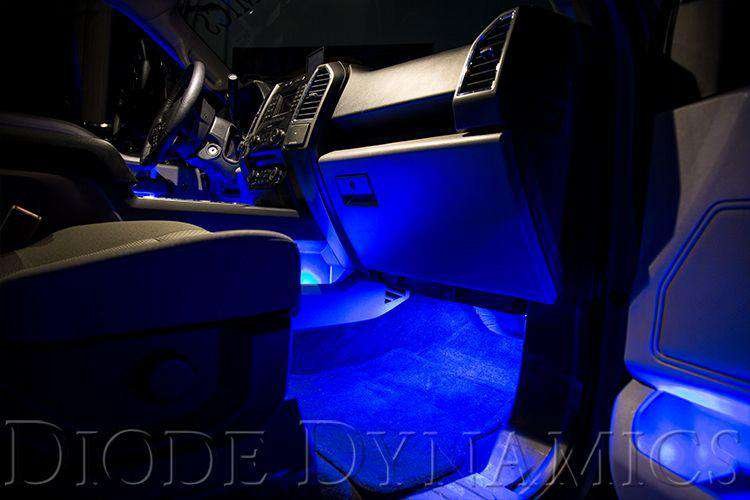 DIODE DYNAMICS: Single-Color Footwell LED Kit