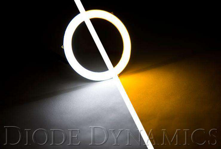 HD LED Switchback Halos (Pair) - Diode Dynamics / 50mm-160mm