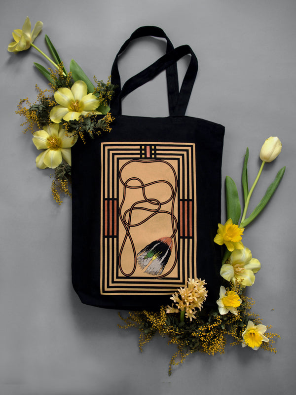 OF THE EARTH TOTE IN HONEY