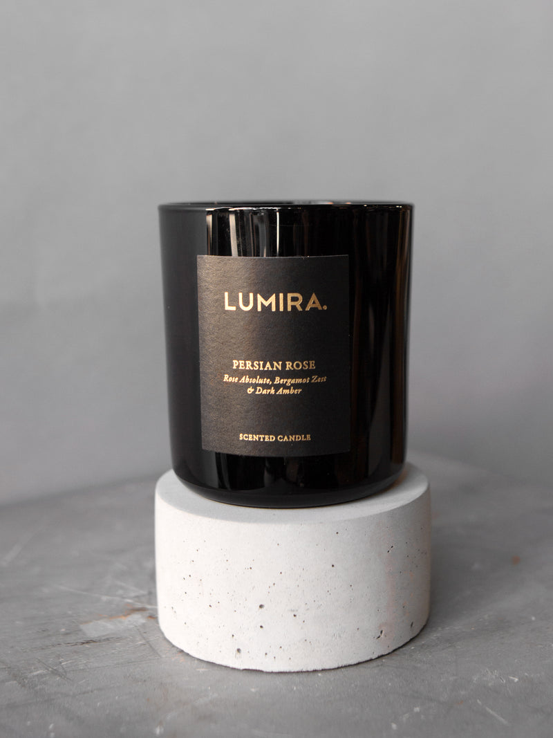 LUMIRA PERSIAN ROSE CANDLE