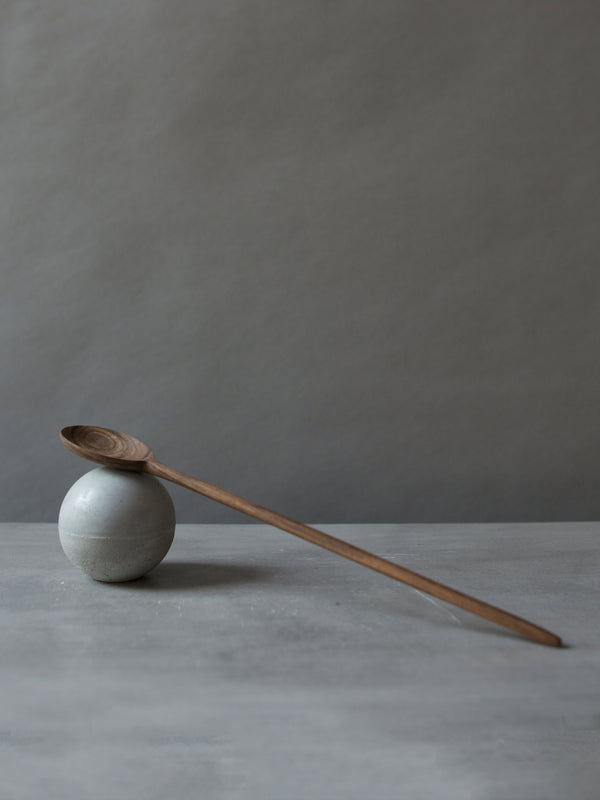 TALL WALNUT TASTING SPOON