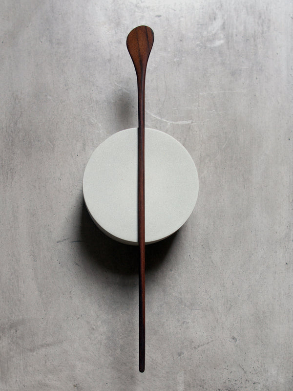 WALNUT COCKTAIL STIRRER