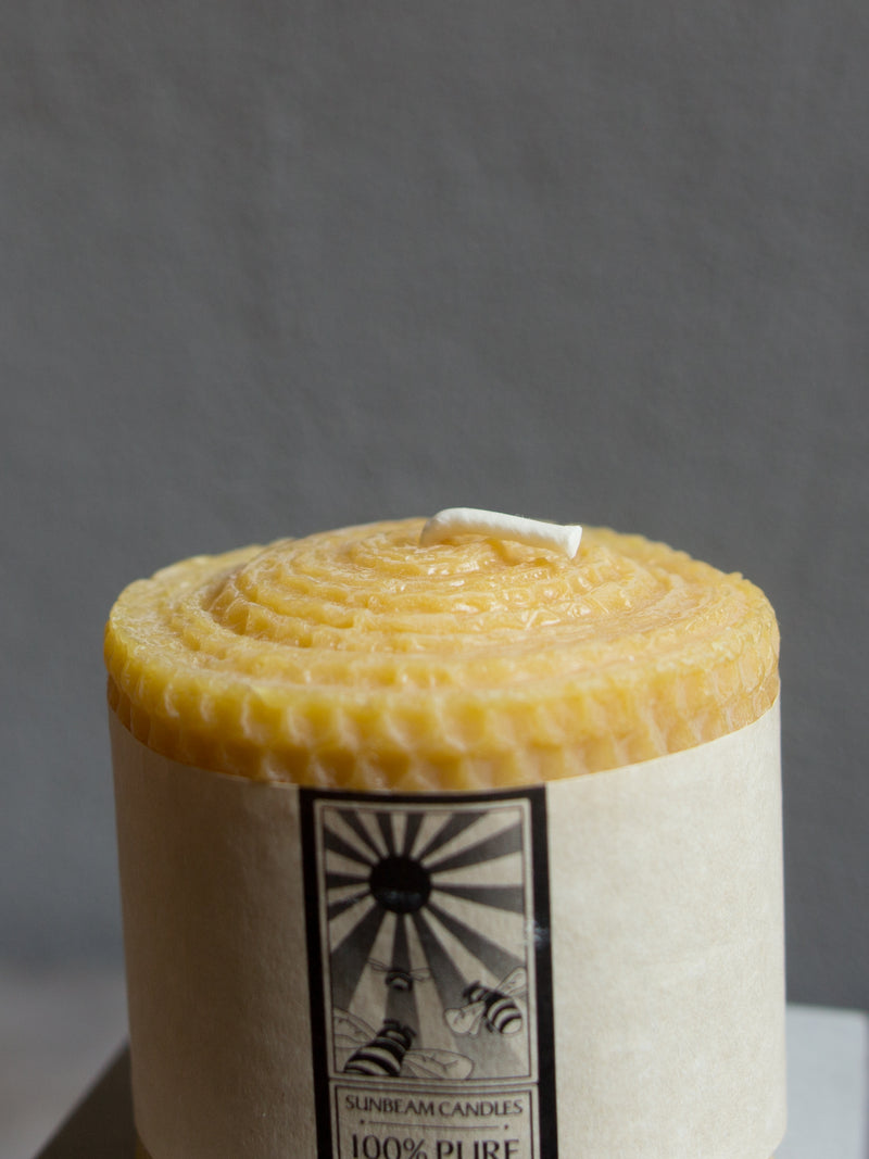 3 X 3 BEESWAX CANDLE