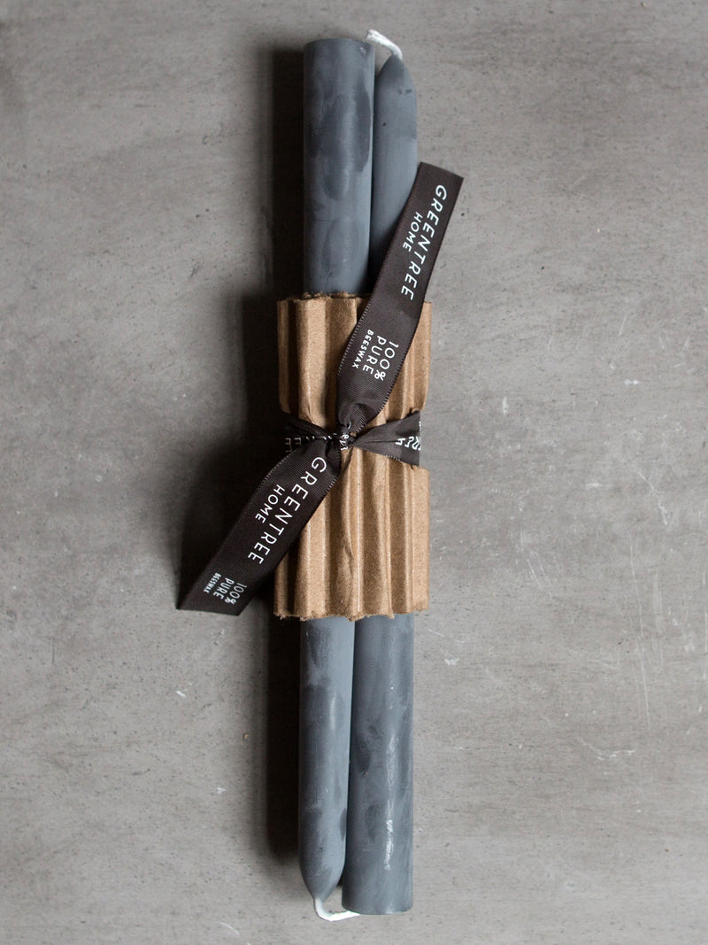 GREY BEESWAX TAPER