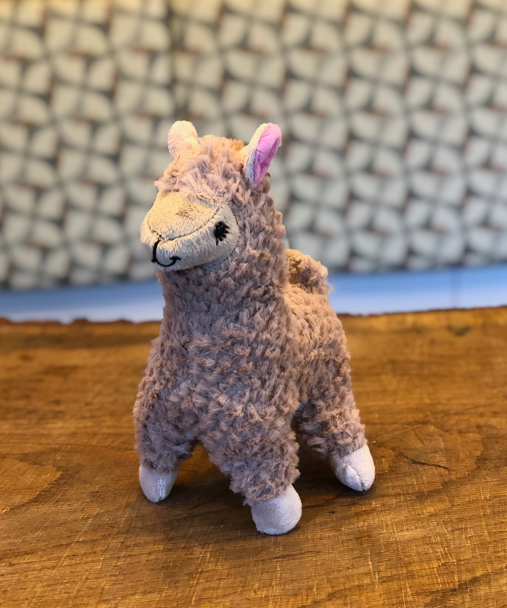 Beige Alpaca Stuffed Animal
