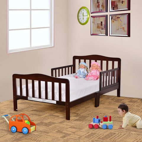 Kids Wood Bed