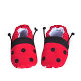 Winter Soft Cotton First Walker Cartoon Baby Slippers Sizes 0-18 Mos