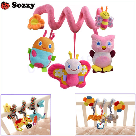Musical Multifunctional Hanging Bed Toys