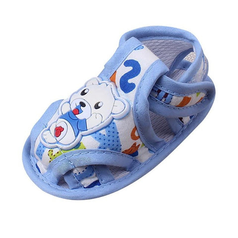 Soft Cotton Fabric Cartoon First Walkers 0-18 months