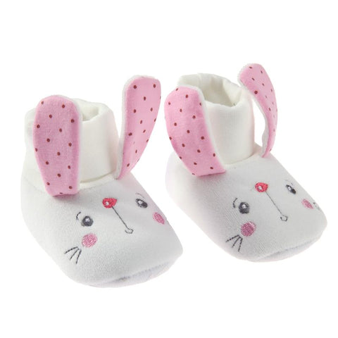 Winter White Rabbit Classic Cartoon Anti-slip Booties 0-18 mos