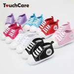 Canvas Sneakers Anti-slip T-tied Soft Sole First Walker Sizes 1.5, 2.5 & 3.5