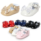 Bowknot Princess Soft Sole Shoes Sizes 2.5, 3 & 4