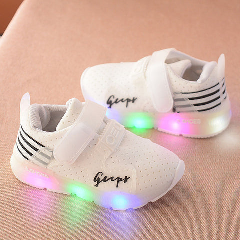 Sport Running LED Luminous Sneakers Size 6-10.5