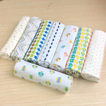 New 100 x 76 cm crib flat sheets, knitted stretch cotton