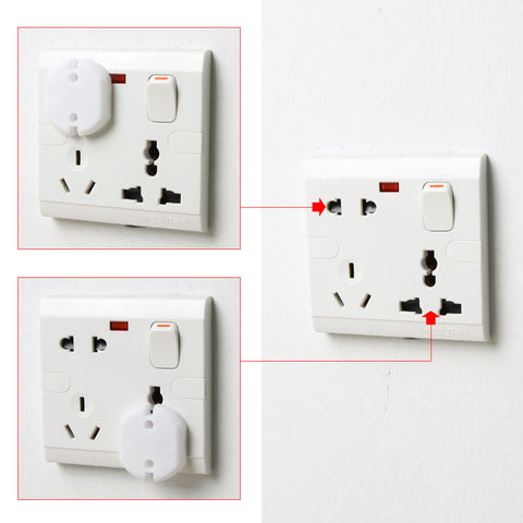 Plastic Child Safe Lock Electric Socket Cover