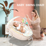 Baby Musical Vibrating Rocking Chair, Safe Baby Sleeping Basket