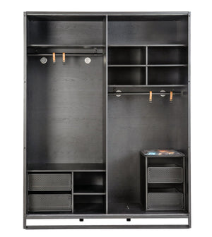 Kinder-Jugendzimmer Dark Metal 6tlg Set