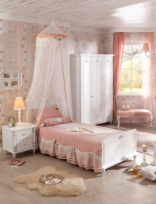 KINDERZIMMER ROMANTICA SET 3-TLG I