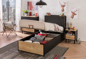 Kinder-Jugendzimmer Black 3tlg Set