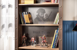 Bücherregal Pirate