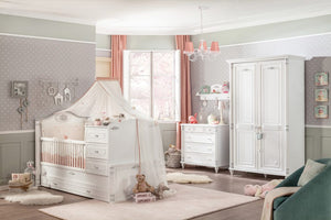 BABYZIMMER ROMANTIC SET  4-TLG