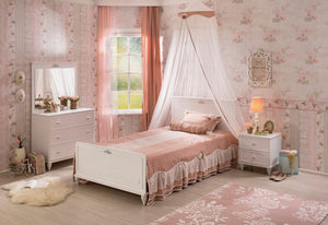 KINDERZIMMER ROMANTICA SET 4-TLG I