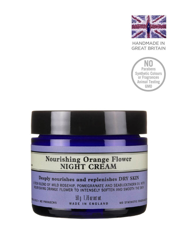 Nourishing Orange Flower Night Cream
