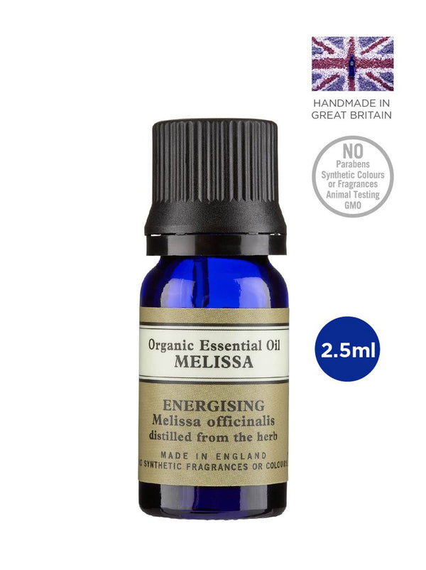 Melissa Organic Essential Oil 2.5ml