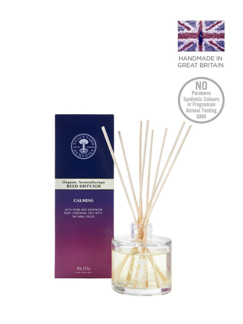 Organic Aromatherapy Reed Diffuser Calming